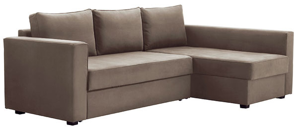 Rohová pohovka MÅNSTAD, rozkladacia, súložným priestorom. 240 × 90 cm (š × h), maximálna hĺbka 155 cm. 349 €, IKEA