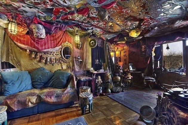 Apartmán v Greenwich Village v bláznivo cigánskom štýle