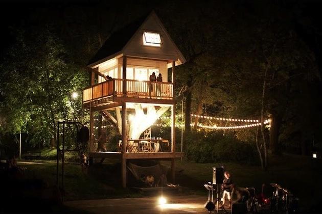 vidiecky dom, strom, Wisconsin