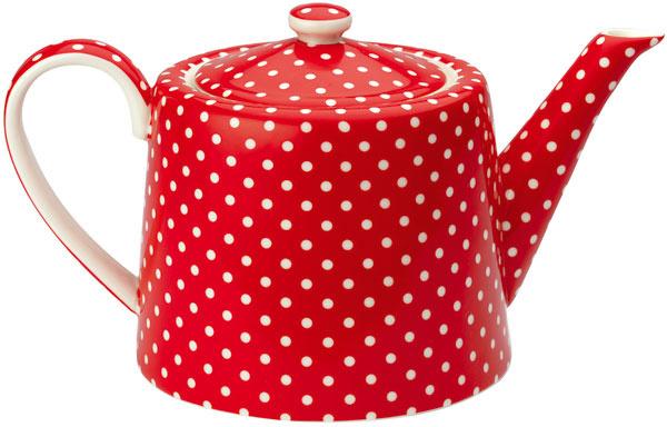 Čajník Spot Red, 40,46 €, www.bellarose.sk