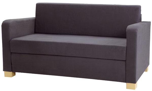 Solsta, rozkladacia dvojpohovka, 137 × 78/118 × 205 cm, 64,90 €, IKEA