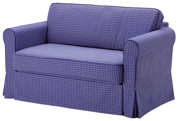 Hagalund, dvojpohovka súložným priestorom, poťah Fruvik, 150 × 86/120 × 196 cm, 349 €, IKEA