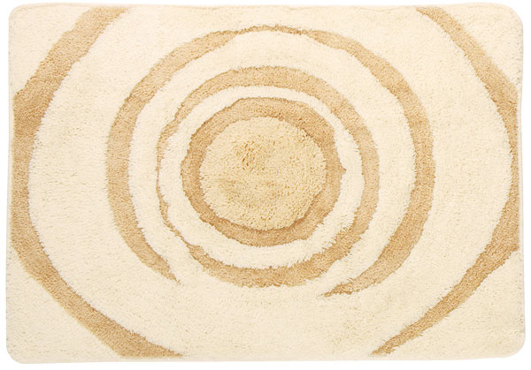 Maxime Kronborg, kúpeľňová predložka, 100 % akryl, latex, 85 × 60 cm, 16,99 €, Jysk