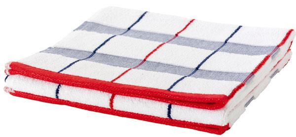 Myrviken, froté uterák, česaná bavlna, 100 × 50 cm, 7,99 €, IKEA
