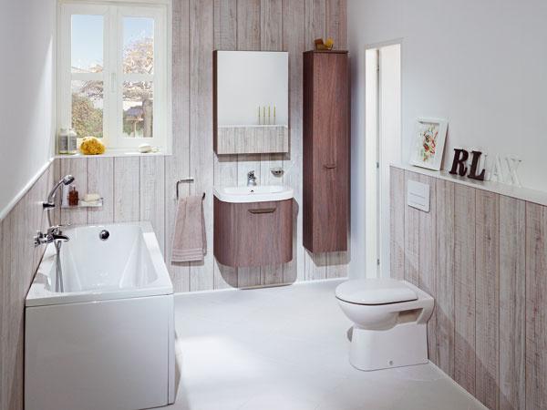 Kúpeľňa, ktorá ladí s prírodou