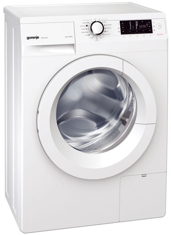 Gorenje W 6543/S, kapacita 6 kg, energetická trieda A+++, spotreba energie 0,69 kWh, vody 46 l, odstreďovanie 1 400 ot./min, hlučnosť 56/72 dB, hĺbka 44 cm, systém DSS – 100 % využitie pracieho prostriedku, pranie sbioguľôčkami, 349 €