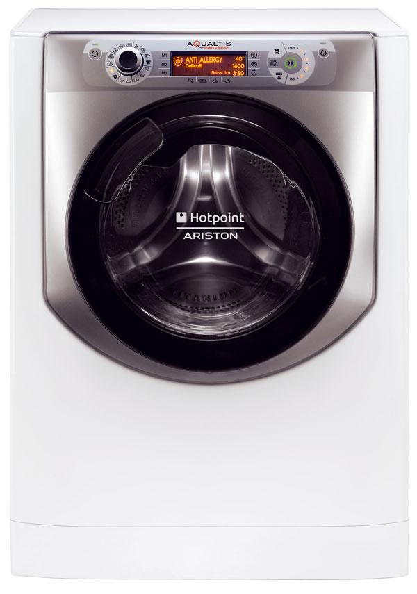 Hotpoint Aqualtis AQ114D 697D EU/B, kapacita 11 kg, energetická trieda A+++, spotreba energie 1,138 kWh, vody 60 l, odstreďovanie 1 400 ot./min, hlučnosť 51/79 dB, parné pranie, nový tvar unášačov vbubne zabraňuje vzniku žmolkov, 799 €
