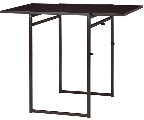 Muddus, sklápací stolík, drevotrieska, melamínová fólia, oceľ, 48/92 × 60 × 74 cm, 44,99 €, IKEA