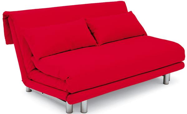Multy, rozkladací gauč s troma polohami, dizajn Claude Brisson, od 3 097 €, Ligne Roset
