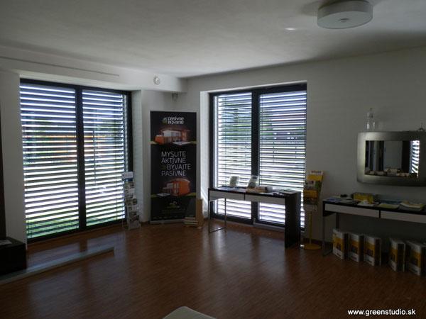 K-system – dodávateľ vonkajších žalúzií pre energeticky pasívne domy