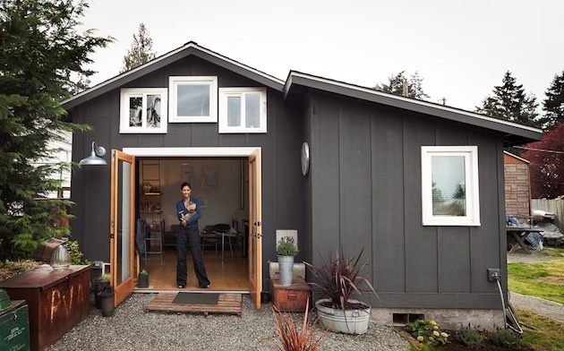 Aj starú garáž si môžete prerobiť na dom