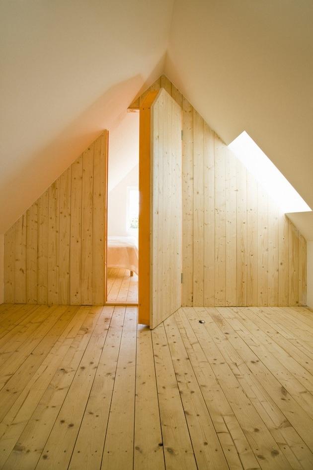 Skrytá spálňa poskytuje maximálne súkromie