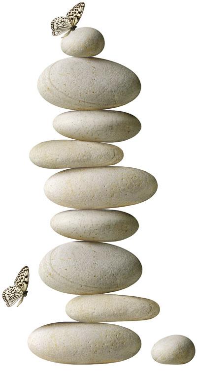 Dekoračné nálepky Slätthult – kamene, motív Stephane De Bourgies, 9,99 €, IKEA