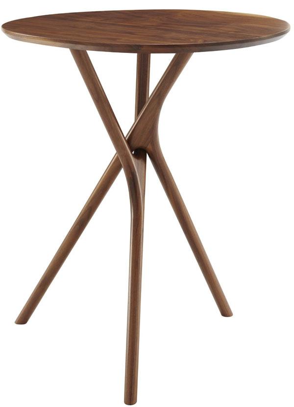 Stolík Black Forest, orech, dizajn Outofstock, 1 087 €, Ligne Roset