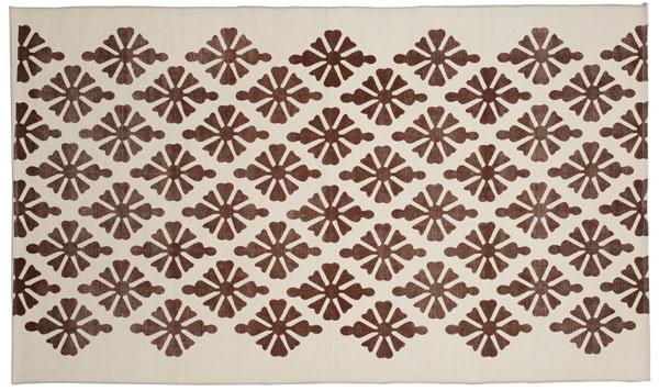 Koberec Fjälltag, 100 % bavlna, 170 × 100 cm, 24,99 €, IKEA