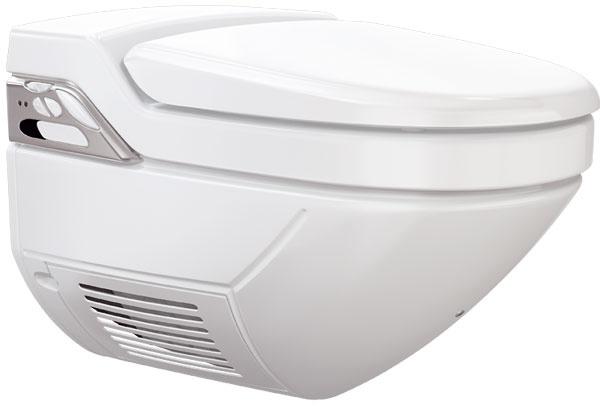 Za Mercedes medzi sprchovacími toaletami môžete považovať Geberit AquaClean 8000plus so všetkým, čo k nemu patrí – sprcha, odsávanie pachov, sušenie, automatické čistenie a diaľkové ovládanie s možnosťou uložiť si používateľský profil do pamäte. www.geberit.sk