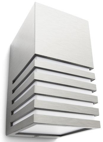 Svietidlo Veranda od Philips vo verzii so senzorom je práve preto ideálne na osvetľovanie vstupov, schodísk a podobne.