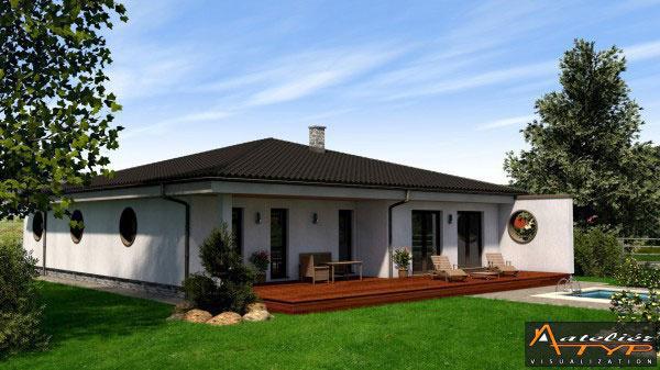 Rodinný dom RM 171 v.2 Ateliér: ATYP ateliér, Ing. Rastislav Murgaš