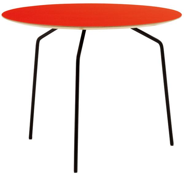 Príručný stolík Occa 2510, koralovočervený laminát, 41 × 55 cm, 179 €, BoConcept, LightPark