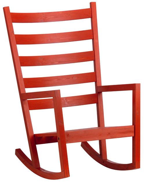 Värmdö, hojdacie kreslo zmasívnej borovice, akrylová glazúrovacia farba, vhodné aj do exteriéru, 106 × 74 × 65 cm, 99,90 €, IKEA