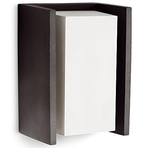 Nástenné svietidlo Ecomoods, Philips, hliník, 21,2 × 11,8 × 10,1 cm, napätie 220 – 240 V/50 – 60 Hz, IP44, 60 €, Feim
