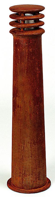 Stĺpikové svietidlo zkolekcie Rusty, kov, vponuke vo dvoch veľkostiach 40 a70 cm, od 216 €, Elmina, Light Park