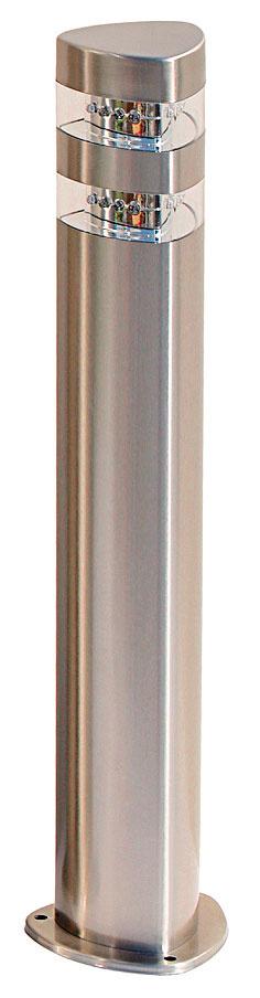 Záhradné LED svietidlo Michigan, Hecht, antikoro, 50 cm, napätie 230 V/50 Hz, príkon 3 W, akciová cena 19 €, www.zahrada-naradie.sk