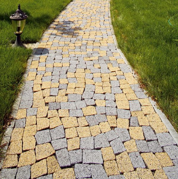 Best Esmero zostava 104 nepravidelných betónových kameňov na pochôdzne plochy, výška 6 cm, 27,45 €/m2