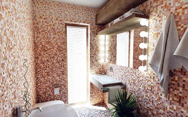 Riešenie #2 Toaleta by nemala byť prvou vecou,  ktorú pri vstupe do miestnosti zbadáme.