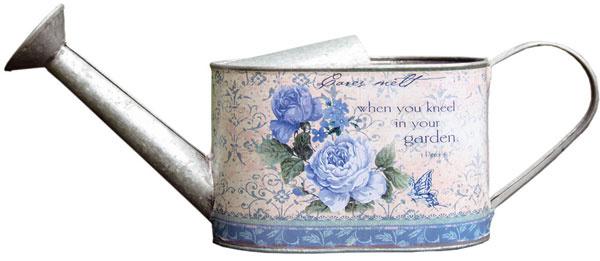 Plechová krhlička sfarebnou potlačou spatinou, 31 × 10 × 11 cm, 9,90 €, tintinhal.sk