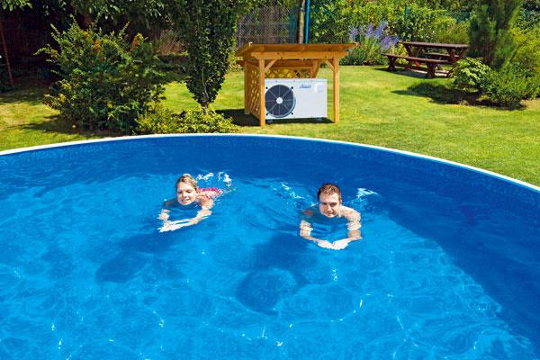 Nezabúdajte, že tepelné čerpadlo je elektrické zariadenie, apreto musí byť od bazéna, respektíve vody vzdialené minimálne 3,5 m.