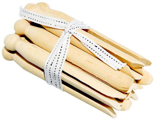 Drevené retro kolíčky, set 10 ks, 7,05 €, www.bellarose.sk
