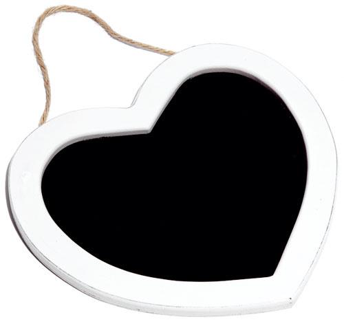 Drevená tabuľka Srdce, 15,57 €, www.bellarose.sk