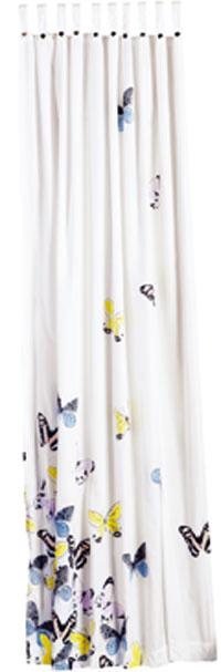 Sprchovací záves Butterflies, 88,91 €, www.bellarose.sk