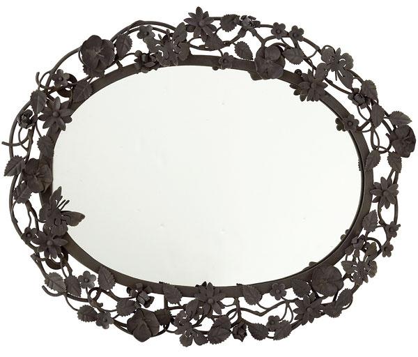 Závesné zrkadlo smotívom kvetín, 52,88 €, www.apropos-shop.sk