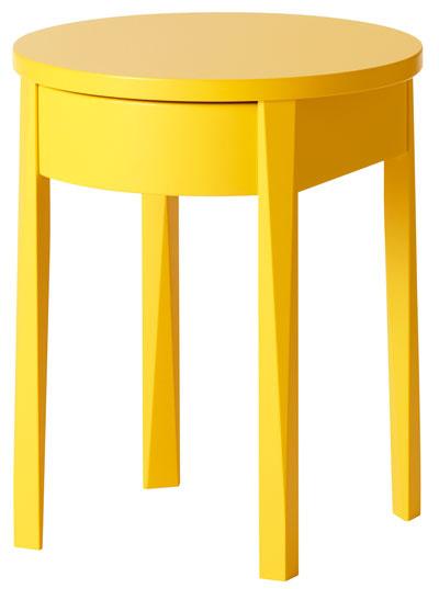 Stockholm, stolík, masívny buk, drevovláknitá doska, 50 × 42 × 42 cm, 79,90 €, IKEA
