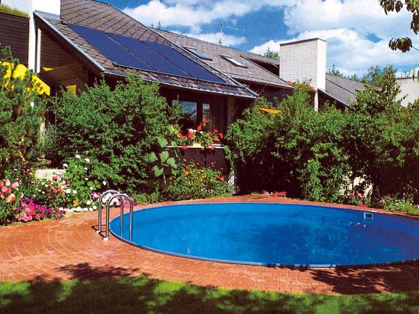 Vyberáme solárny ohrev vody vbazéne