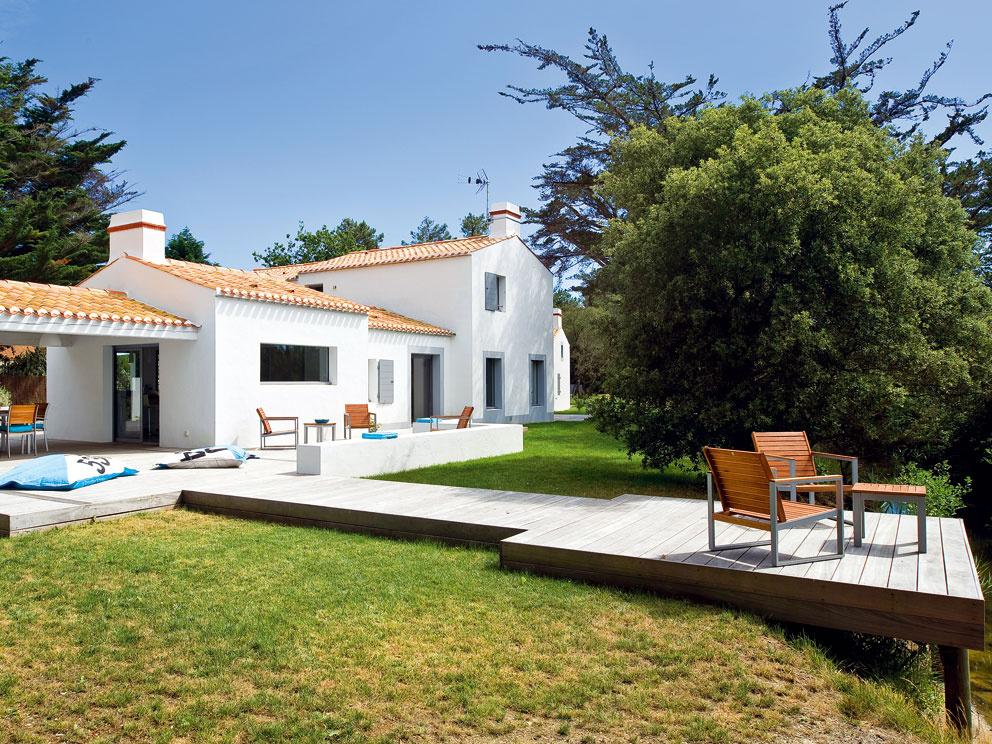 Letný rodinný dom určený na relax a leňošenie