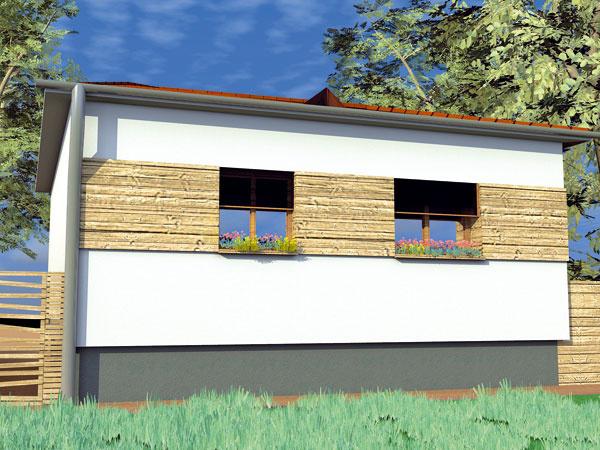 Navrhli sme fasádu pre starší rodinný dom našej čitateľky