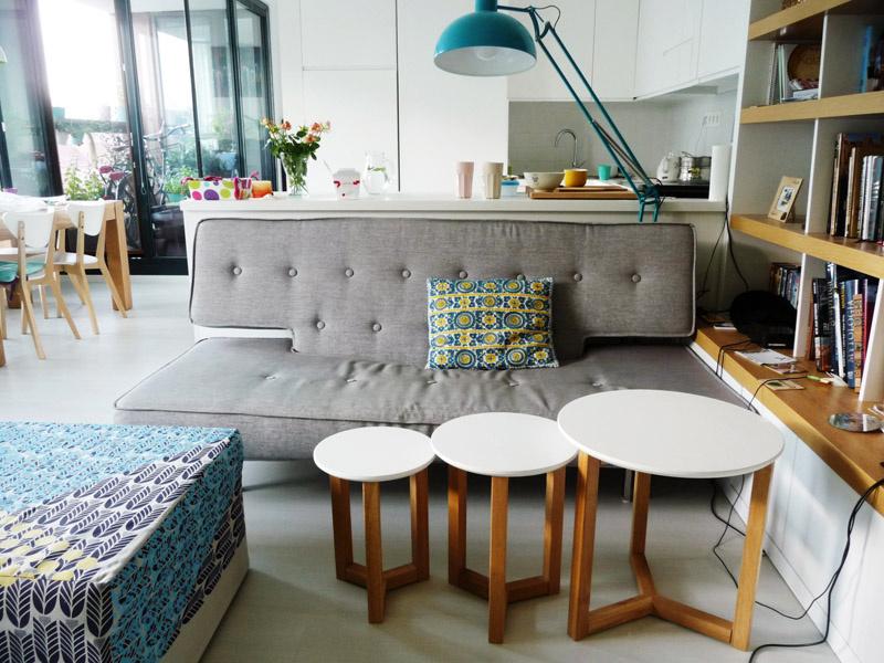 Obývacia izba bez televízie podporuje komunikáciu.