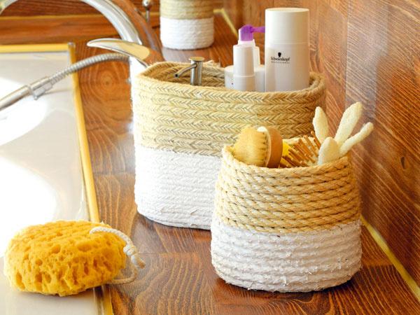 Ako využiť v domácnosti staré plastové nádoby