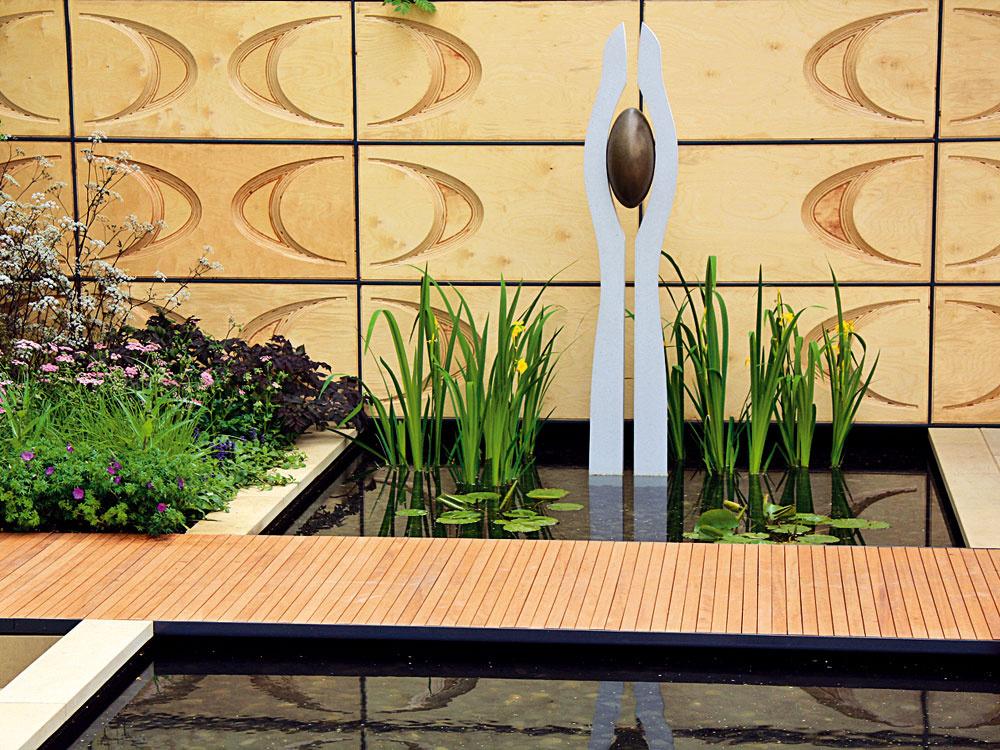 7 vodných záhrad, ktoré prezentujú súčasný záhradný dizajn