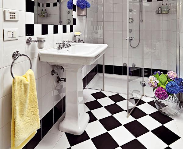 Po francúzsky šarmantná kúpeľňa