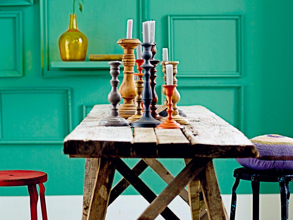 Interiérové doplnky vpastelových farbách