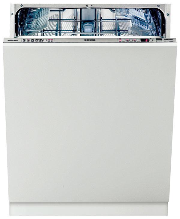 Gorenje GV63325XV  Energetická trieda: A++ Štandardné umývanie: 180 min/12 l/0,91 kWh Hlučnosť: 46 dB Funkcie: senzor znečistenia, otvorenie dvierok  Umyť riad avyvetrať. Taká je úsporná stratégia umývačky, ktorá po každom umývacom cykle automaticky pootvorí dvierka, aby sa odvetrala časť pary. Ide omodel so štandardnou sériou umývacích programov, ktoré dosahujú nízku spotrebu energie studeným predopláchnutím. Nie vždy sme boli svýsledkom umývania spokojní, atak sme na lepšie umývanie zvýšili zmäkčovanie vody ojeden stupeň, i keď na úkor životnosti skla. Ocenili sme variabilitu košov, ako aj možnosť vyladiť programy doplnkovými funkciami. Táto umývačka je očosi hlučnejšia ako ostatné vteste, preto by vjej prípade štart odložený na nočné hodiny nemusel byť ideálnou voľbou najmä vmenších bytoch. Zamrzela nás aj kolízia dávkovača čistiaceho prostriedku svrchným košom nastaveným do spodnej polohy.
