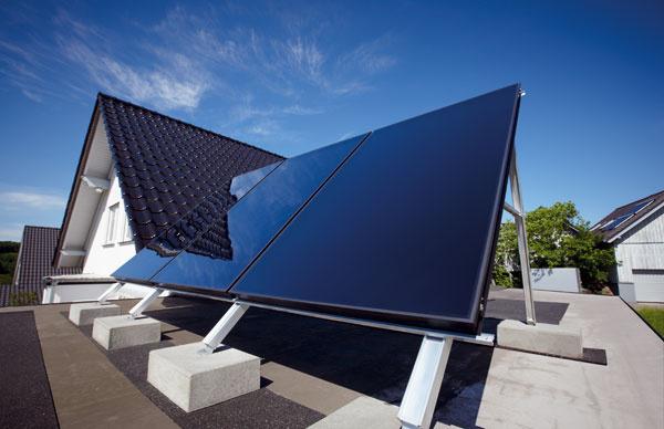 Solárny systém značky Vaillant