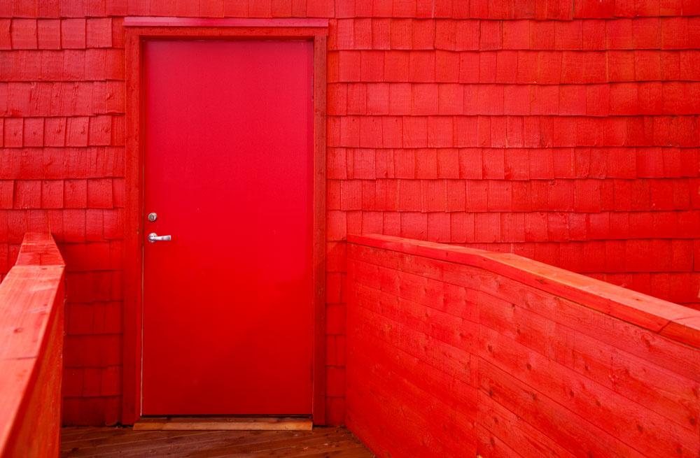Dom ako z rozprávky o Červenej čiapočke