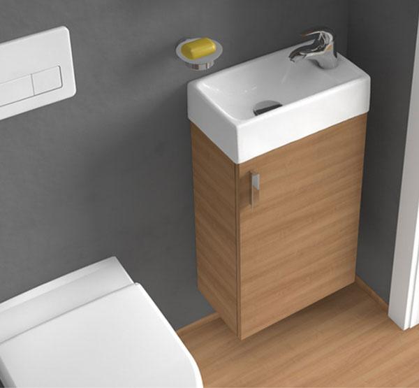 Kúpeľňový nábytok Jika Cube a Jika Petit prináša do kúpeľne geometrické tvary a minimalizmus