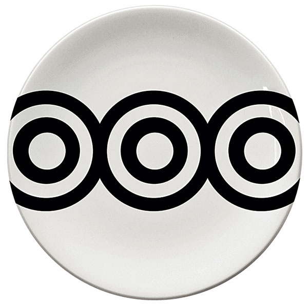 Dezertný tanier Zen, priemer 21 cm, 5,56 €, www.apropos-shop.sk
