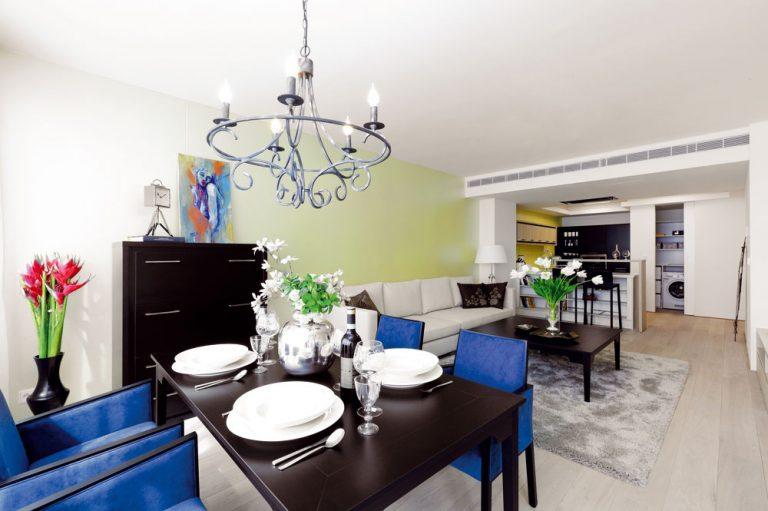 V 2-izbovom bratislavskom byte vytvorili elegantné a vzdušné priestory